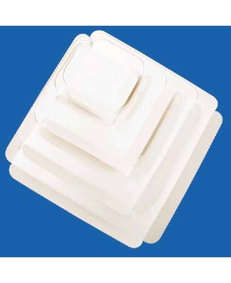 carrés rainésx50/15cmx15cm blanc