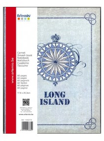 carnet 60pages long island verso recto