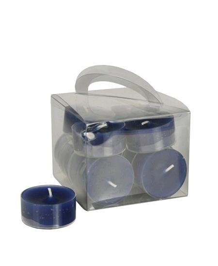 12 chauffe plats D3.8cm bleu marine