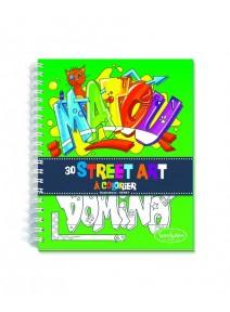 carnet de coloriage street art 3ANS+