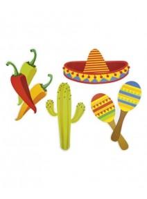 décoration murale chapeau mexicain