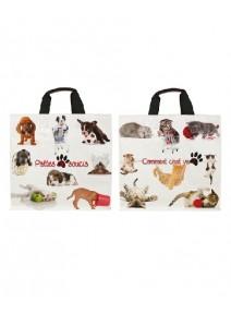 sac cabas 37+23x36cm/30L chats chiens