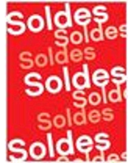 affiche SOLDE 60x80cm