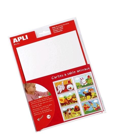 cartes à sablex12 animaux