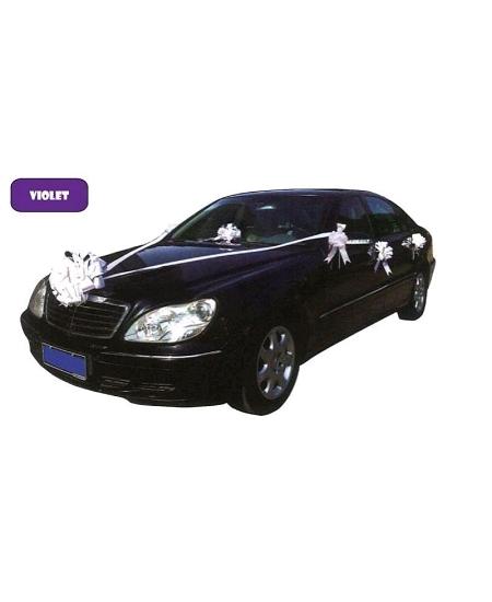 kit de décoration mariage violet