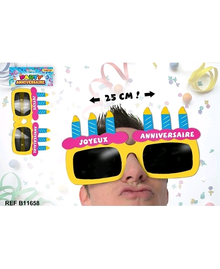 lunette joyeux anniversaire géante