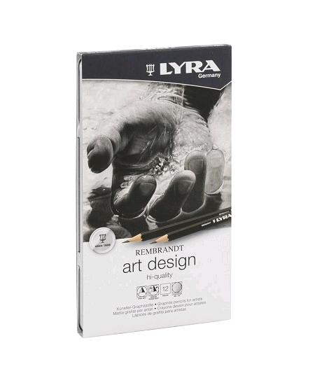 crayons graphitesx12 pour artistes