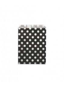 sachets papiersx24/18x13cm noir