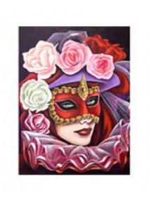 image 3D/30x40cm masque de Venise