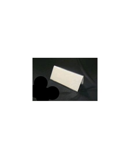 marque place plexi 9.5x4.2cm