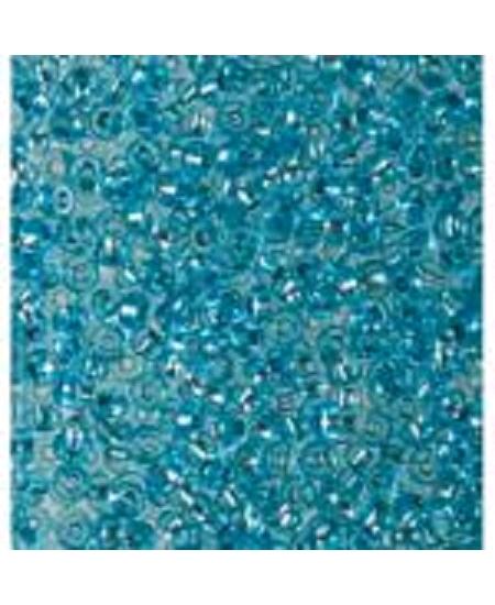 perles de rocailles D3.5mm bleu azur