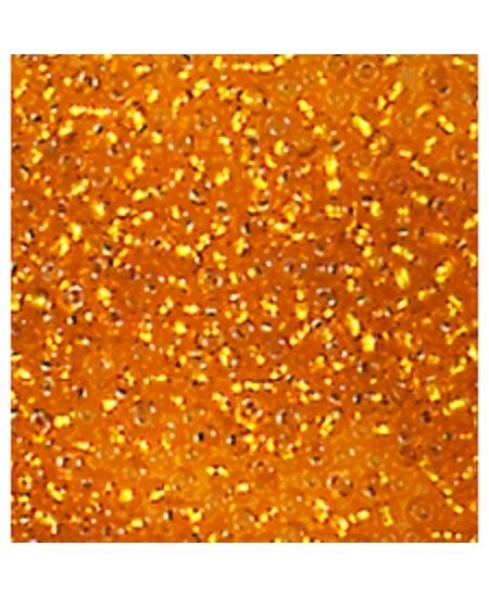 perles de rocailles orange D2.6mm