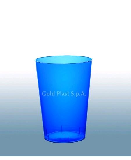 verresx10/20cl bleu en cristal