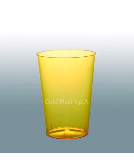 verresx10/20cl jaune citron en cristal