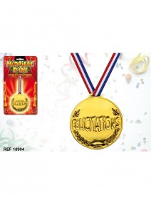 médaille d`or félicitations