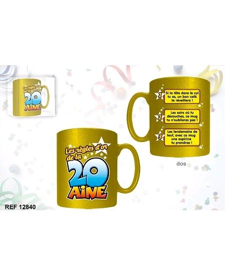 mug or de la 20aine