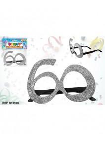 lunette pailletée 60 argent