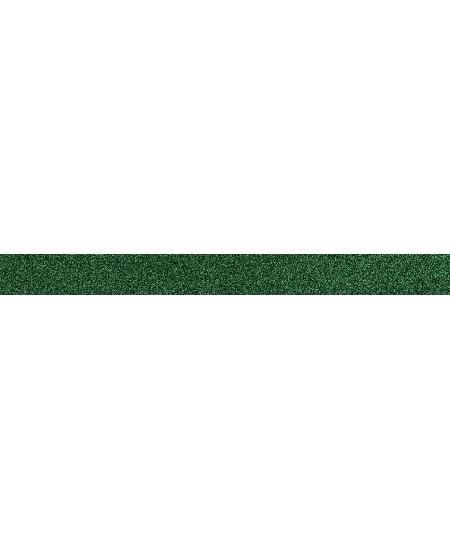 masking tape 5Mx1.5cm vert pailleté