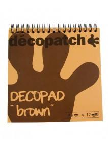 bloc décopatchx48 chocolat