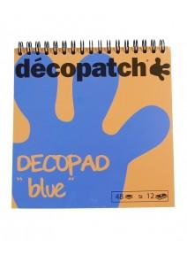 bloc décopatchx48 bleu