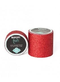 masking tape 2M44x5cm rouge pailletée