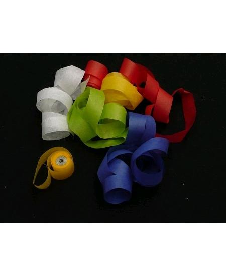 canon à serpentins multicolore