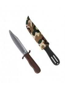 poignard avec fourreau camouflage
