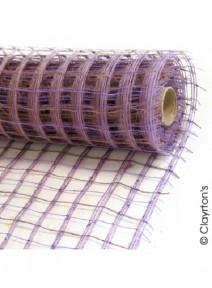 fibres 9M10x53cm parme taupe