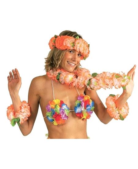 soutien-gorge coquillage avec fleur