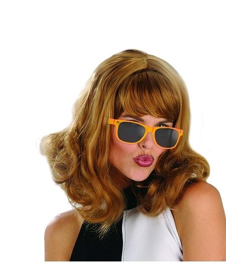 lunette orange fluo