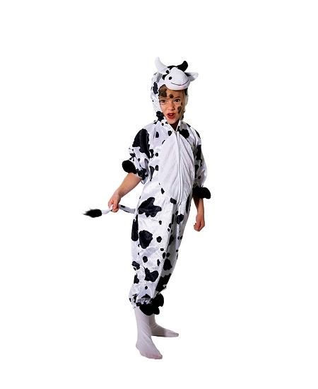 deguisement 8 10ANS vache peluche