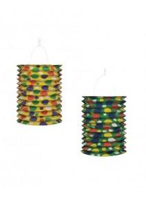 lampionsx2/15cm multicolore