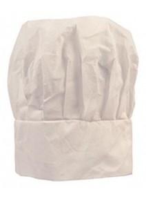 coiffe cuisinier blanche en papier