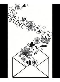 tampon enveloppe love (D)
