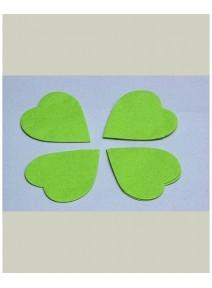 confettis scène coeur 100GRS vert pomme