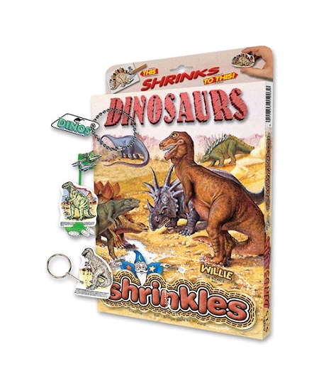kit plastique dingue dinosaures