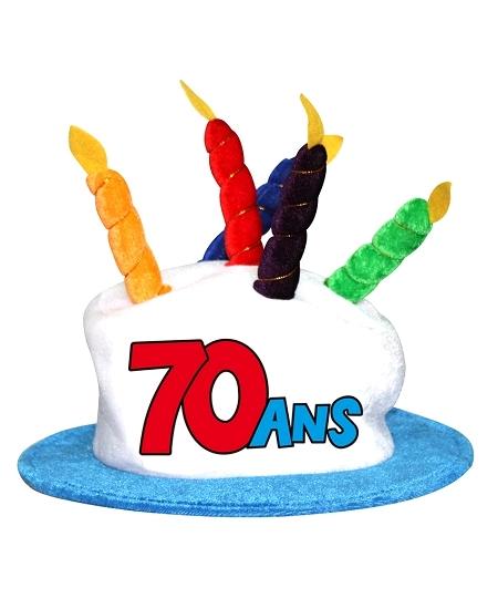 chapeau 70ANS anniversaire