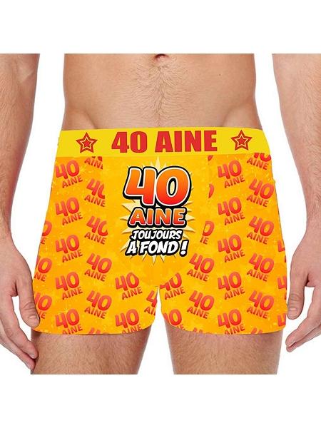 boxer 40AINE taille L