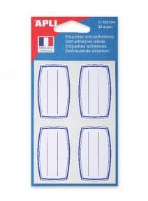 32 étiquettes écoliers 33x53mm
