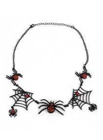 tour de cou araignée gothique