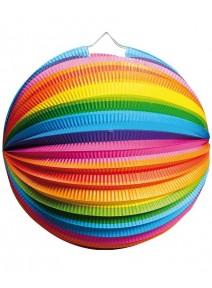 lampion ballonx12/D25cm multicolore