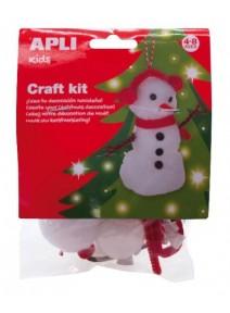 kit à créer bonhomme de neige 4 8ANS