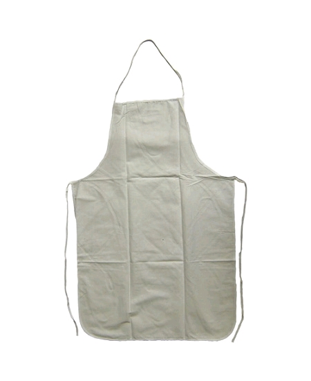 tablier 60x90cm en coton blanc