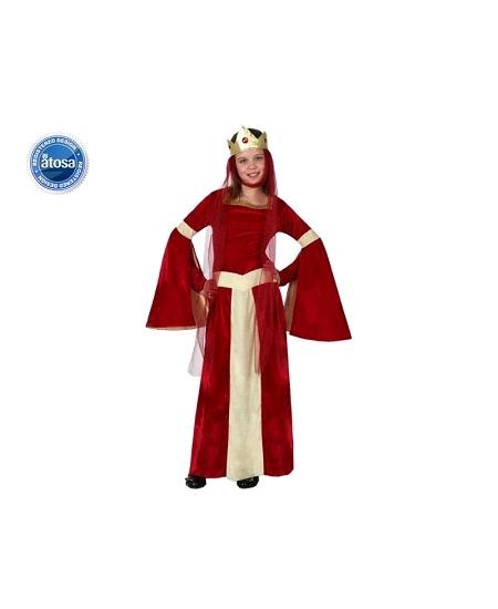 deguisement 7 9ANS dame médiévale
