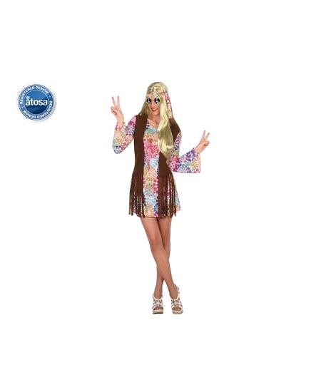 deguisement XS S hippie femme