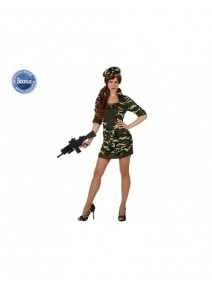 deguisement XS S militaire femme