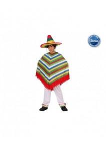 deguisement 7 9ANS mexicain