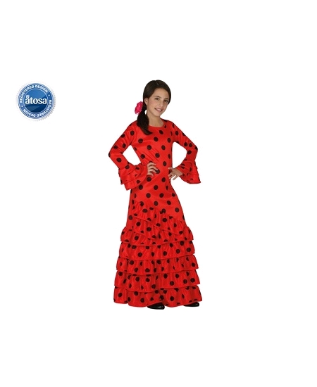 deguisement 10 12ANS flamenco