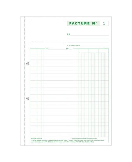 manifold factures tripli 29.7x21cm