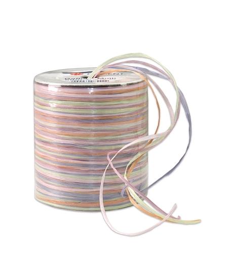 raphia 50M couleurs pastels